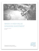 WASH: A High Value Kingdom Investment