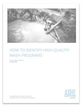 How to Identify High Quality WASH Programs