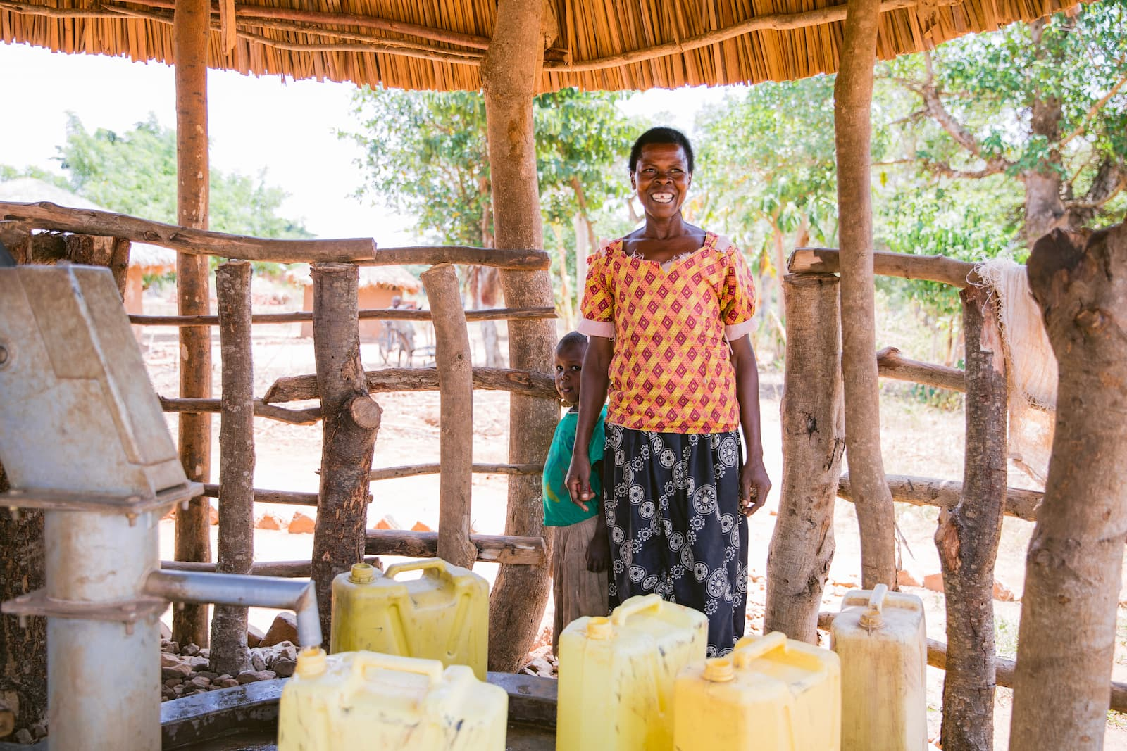 drilling water wells in africa