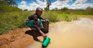 Water Crisis in Uganda - Dirty Water