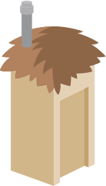 Sanitation (Latrine Illustration)