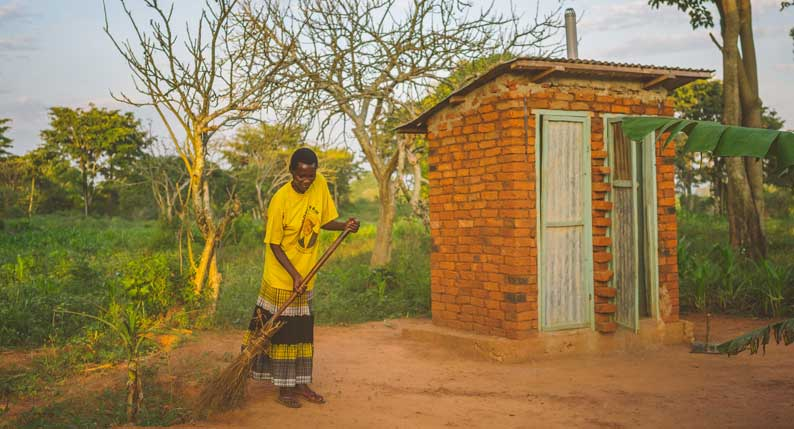 Safe latrines solve sanitation issues