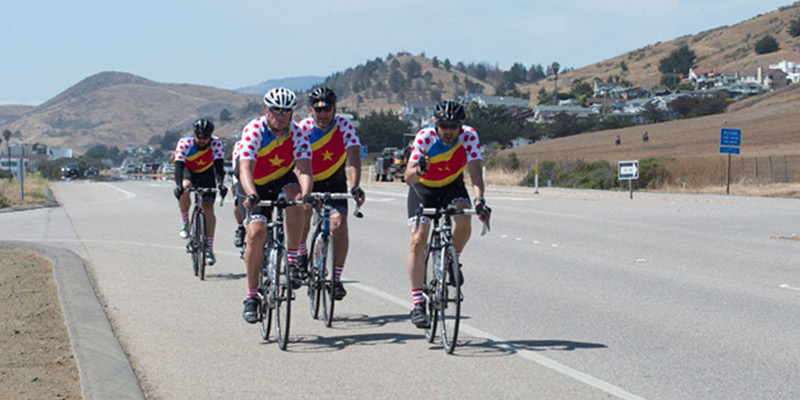 Charity Bike Ride Wheels 4 Water in California
