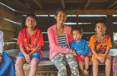 A poor widow in Cambodia found new life and health