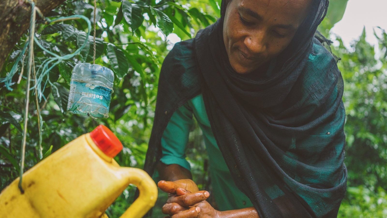 aster and her family are overcoming the Ethiopia water crisis