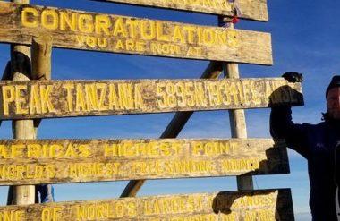 climb kilimanjaro for charity matthew jarrell