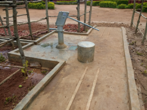 handicap-accessible well